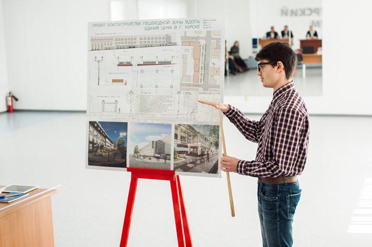 Темы  Перестройка: 13 проектов по преобразованию пешеходной зоны Курского ЦУМа