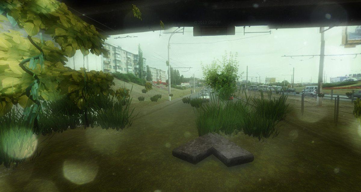Сумской мост в Urban Jungle Street View почти не изменился, только стал немного обросшим травяной «щетиной».