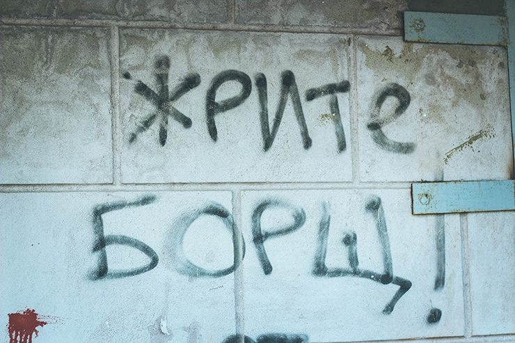 Темы  Город говорит: о чем пишут на заборах в Курске?