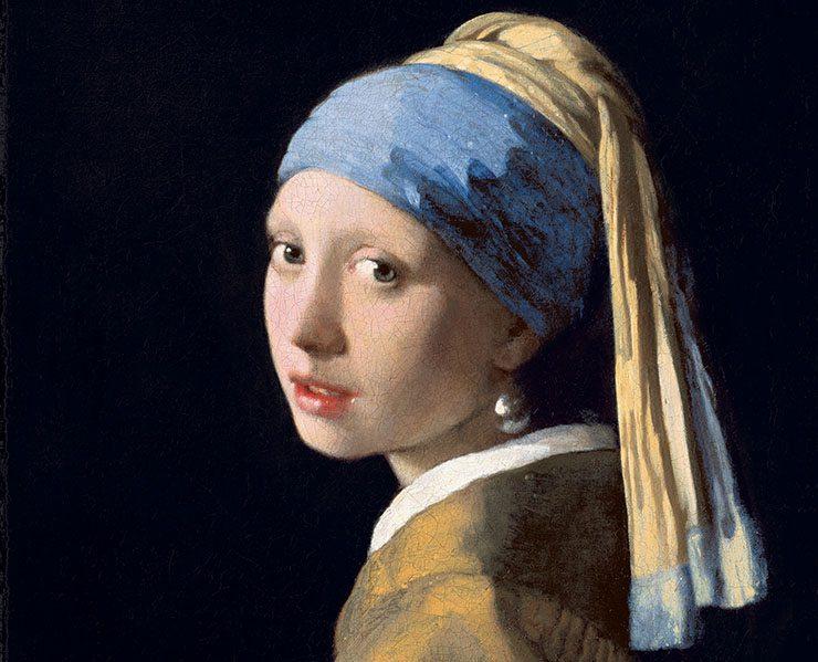 11 девушка с жемчужной сережкой