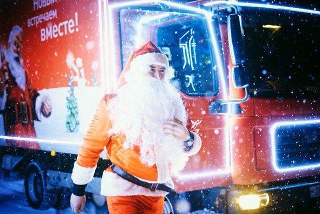 Новости  В Курск приедут рождественские грузовики Coca-Cola