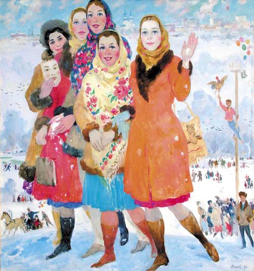 Новости  В галерее Дейнеки откроется выставка художника Василия Ерофеева