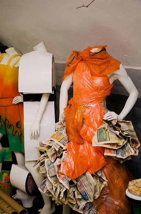 Места  Мода из вторсырья. Что посмотреть в эко-музее