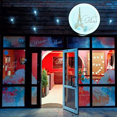 Lounge cafe de Paris