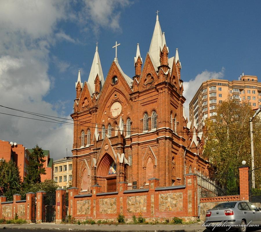 Римско-католическая церковь во имя Успения Пресвятой Девы Марии