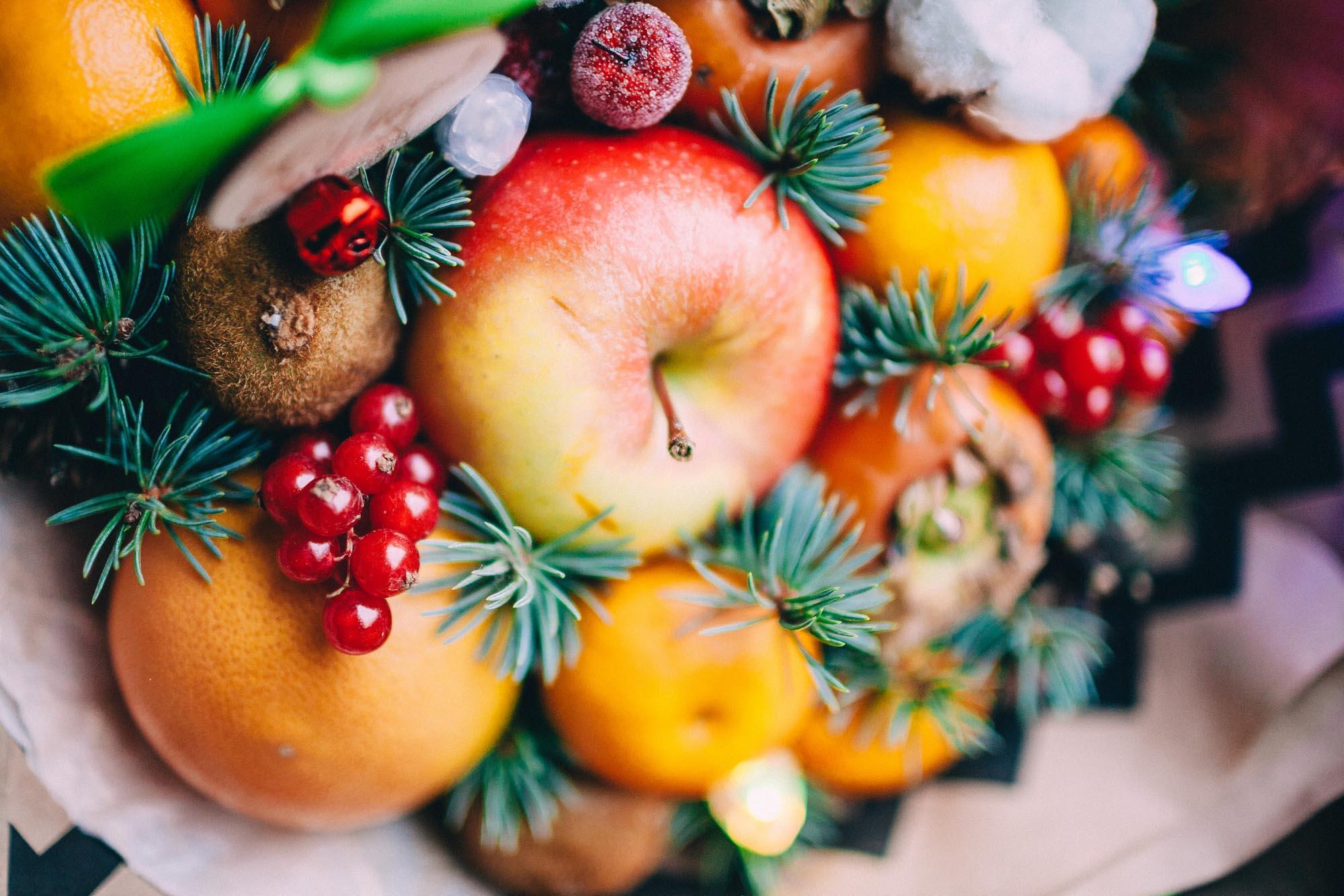 Новый год 2018 в Курске Темы  Купить в подарок: необычные букеты от Deni