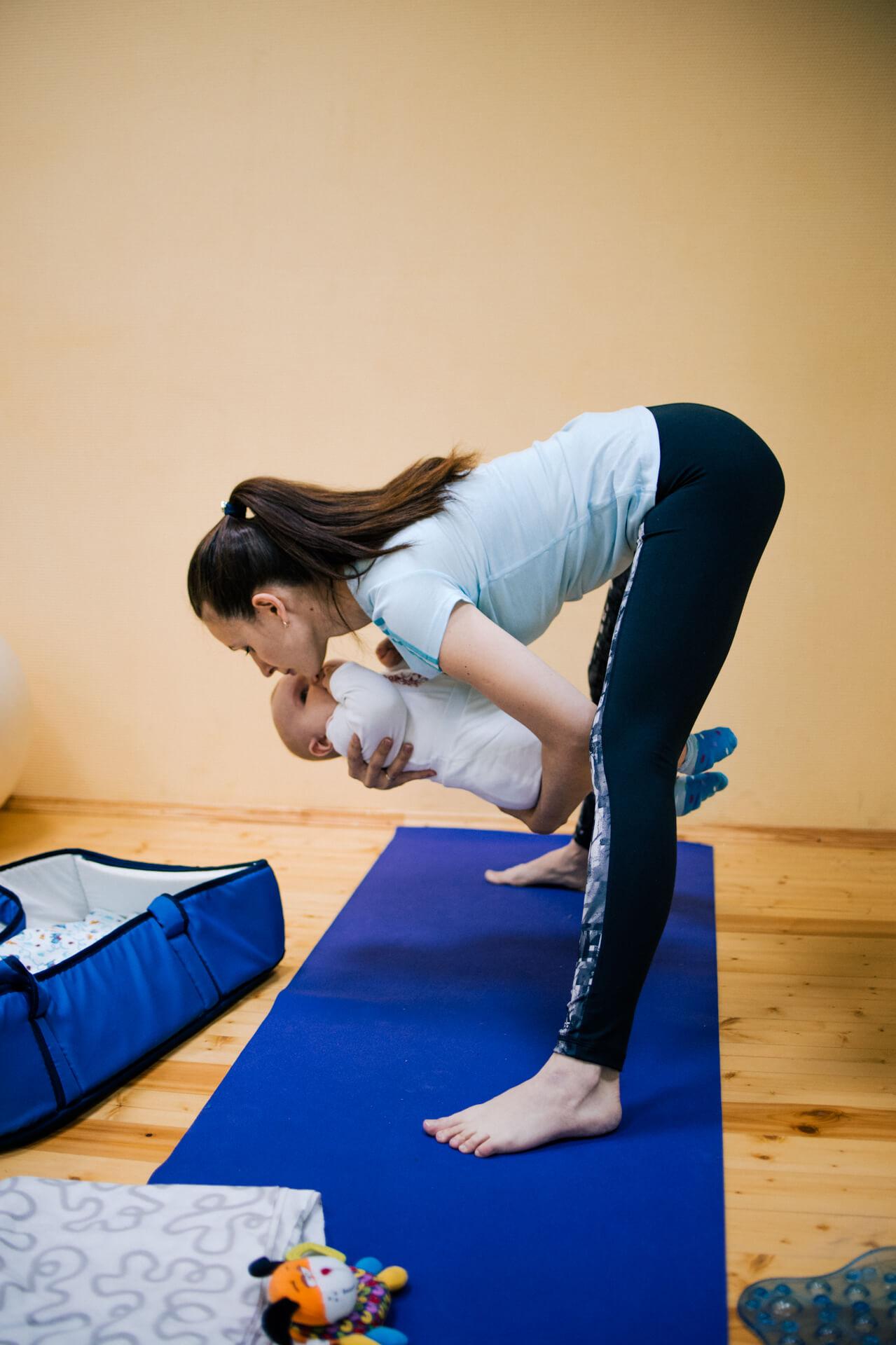 События  Что такое беби-йога и где в Курске сходить на тренировку