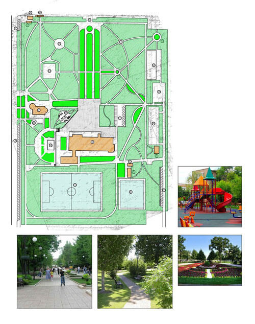 Темы  Комфортная городская среда: 7 парков, которые благоустроят в 2018