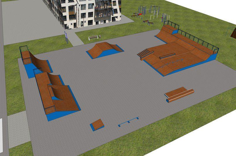 Темы  Перестройка: скейт-парк