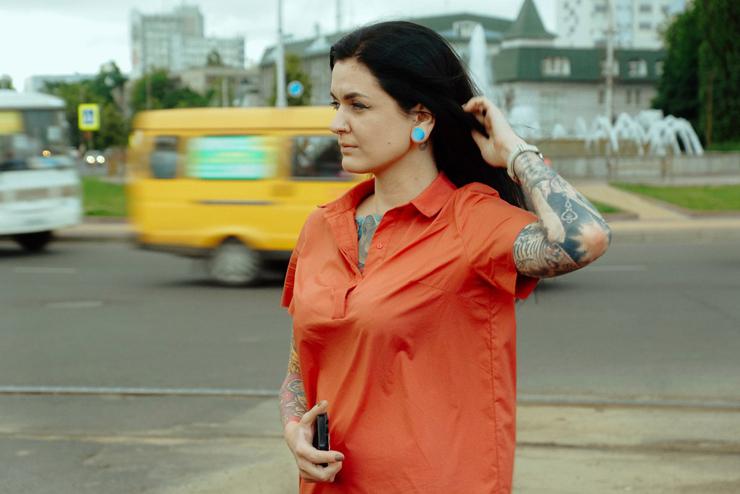 Темы  Как живется татуированным людям в Курске