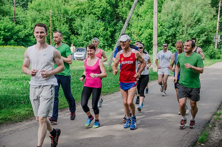 Беговой клуб Run For Fun  Run For Fun: тренировка 18 июня
