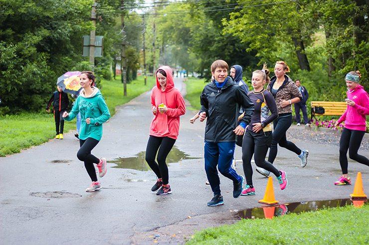 Беговой клуб Run For Fun  RUN FOR FUN: тренировка 13 августа