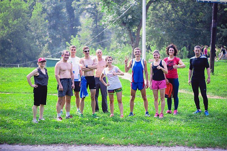 Беговой клуб Run For Fun  RUN FOR FUN: тренировка 30 июля
