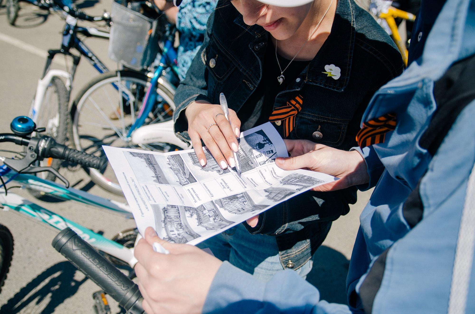 """События  Фотоотчет: как прошел велоквест """"Маршрут победы"""" 2017"""