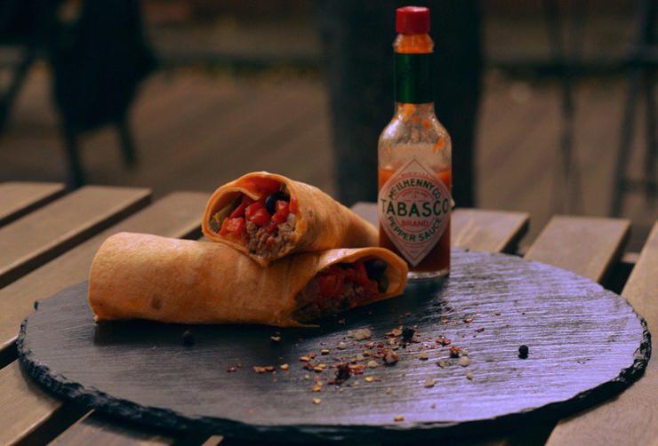 Новости  Новости еды: буррито, вечеринка в римском стиле и англогастрономический МК