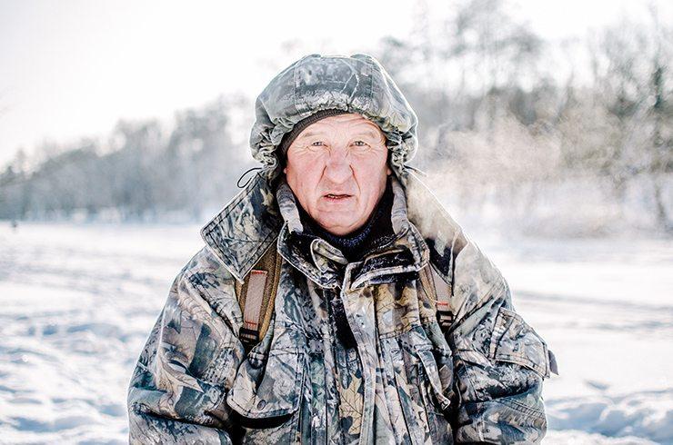 Темы  Кто ловит рыбу зимой?