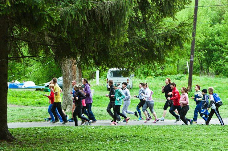Беговой клуб Run For Fun  Run For Fun: кто пришел на тренировку 14 мая?