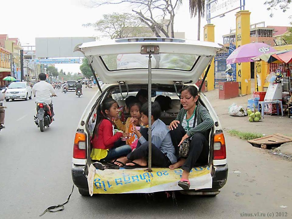 Люди  Сиануквиль: барбекю, дорогой интернет и жадные полицейские