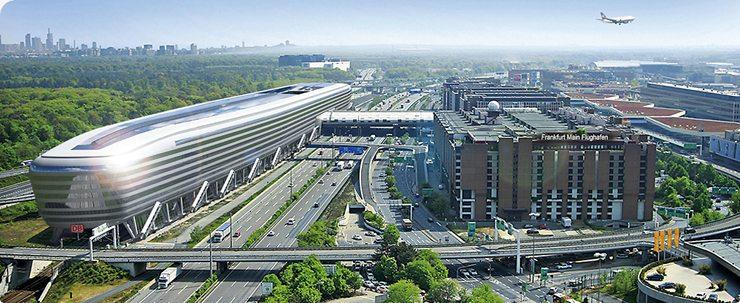 Люди  Франкфурт: небоскрёбы, дежурства, фламмкухен